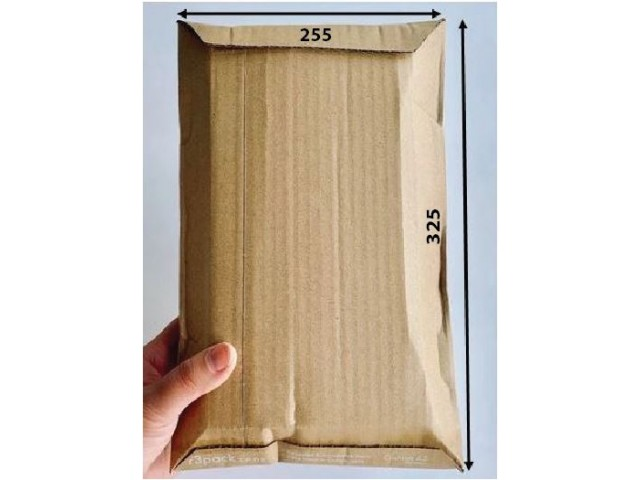 Cushioned Paper Courier Bag (A4) Pack/100