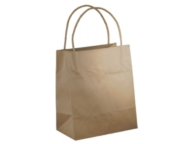 Twist Handle Paper Bag KRAFT Carton/500