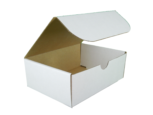 Rectangle Hinged Lid Cardboard Box - Size: 150x112x56