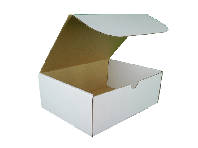 Rectangle Hinged Lid Cardboard Box - Size: 175x130x65