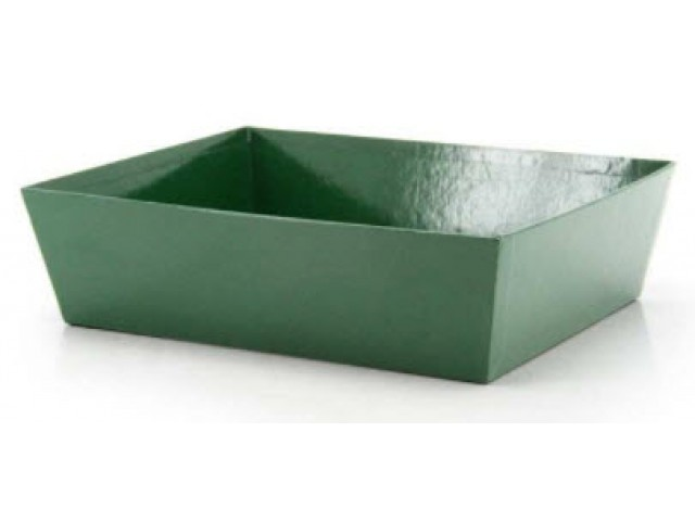 LARGE Gift Hamper Tray Green