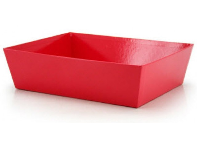 LARGE Gift Hamper Tray Red