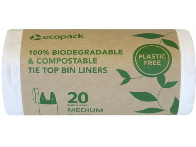 Compostable 27L Bin Liner Roll/20