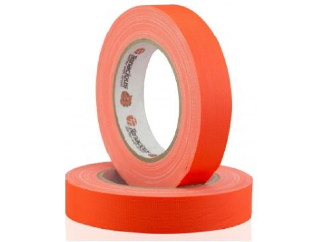 Fluoro ORANGE (Camera) Cloth Tape 25mm x 25m