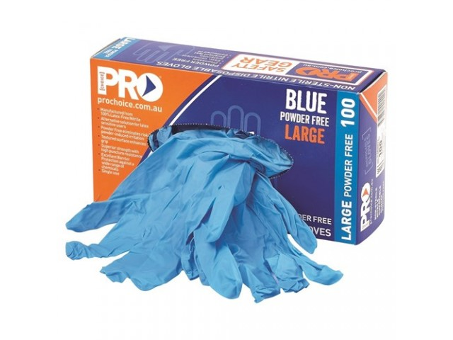 100% Nitrile Gloves