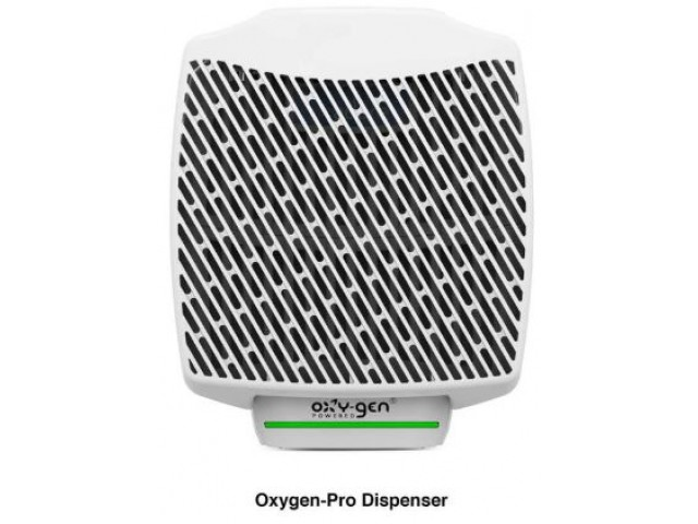 Dispenser for Oxygen-Pro Cartridge