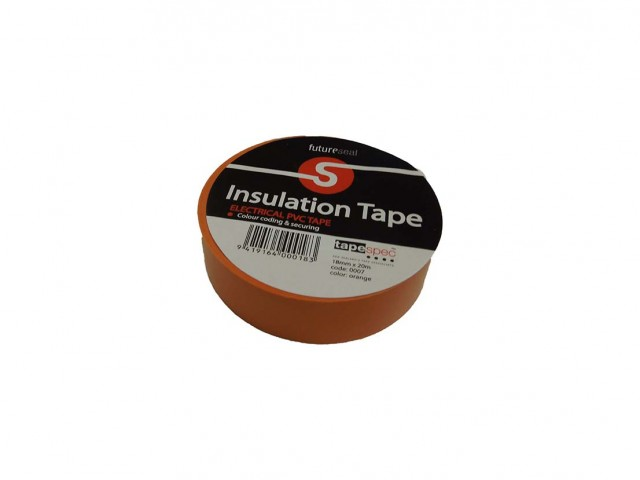 PVC Insulation Tape (ORANGE) 18mm x 30m Roll