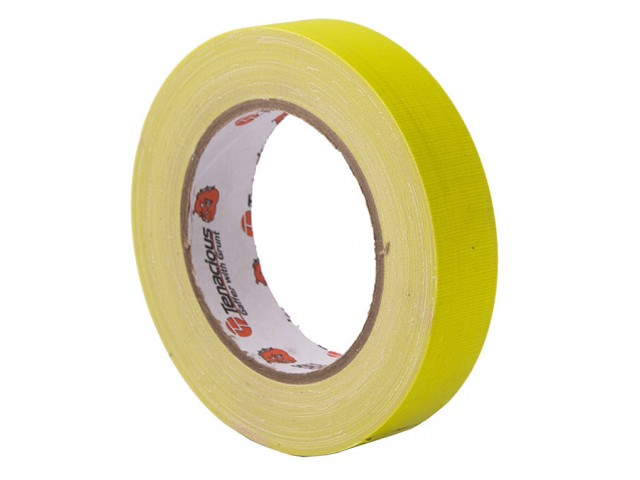 Fluoro YELLOW (Camera) Cloth Tape 50mm x 25m