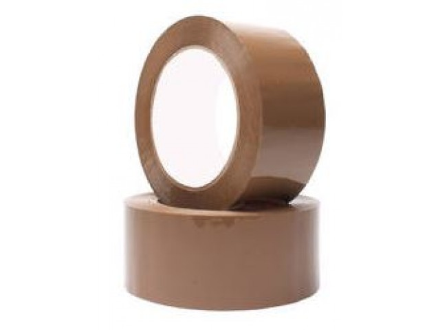 Economy Acrylic Packaging Tape BROWN 48mm