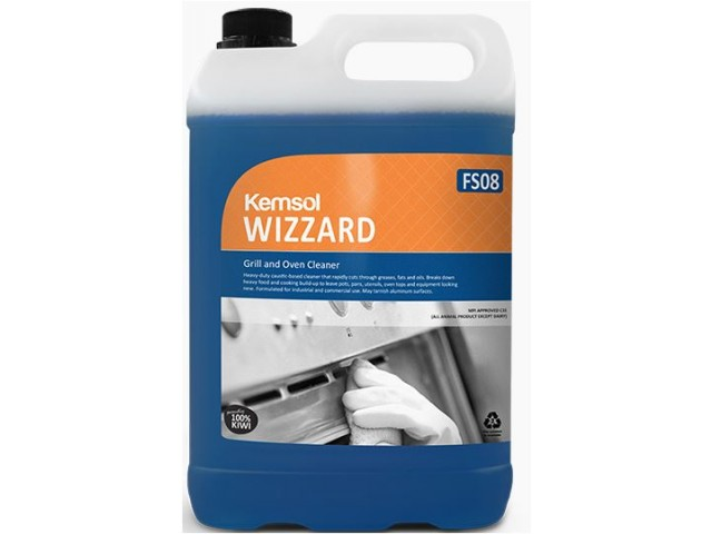 Wizzard (Caustic) Grill & Oven Cleaner 5L