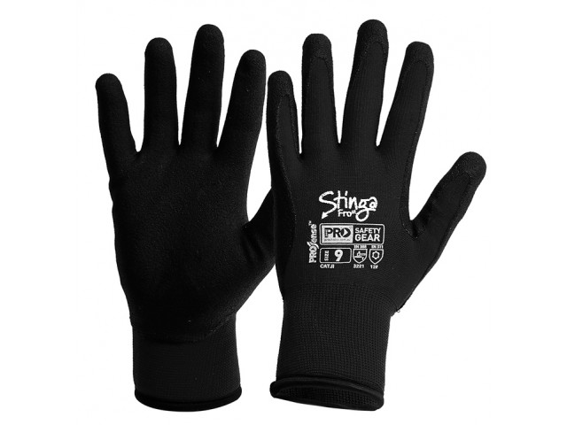 Stinga FROst Gloves - 'Winter' Thermal Lined (Pair) Size 10