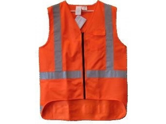 Vest Hi Viz TTMC Orange Large