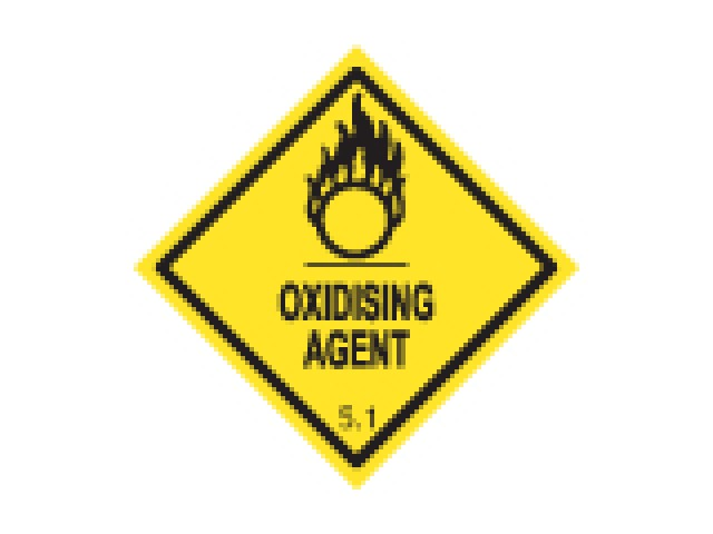 Shipping Labels Oxidising Agent 5.1