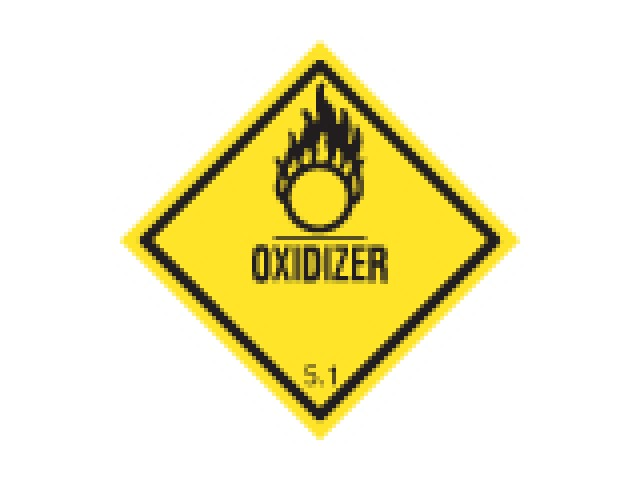 Shipping Labels Oxidizer 5.1