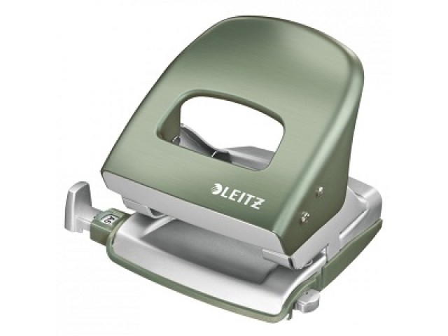 Leitz Metal Hole Punch Green