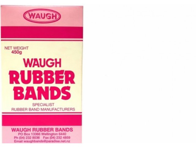 No 12 Rubber Bands (450G Box)