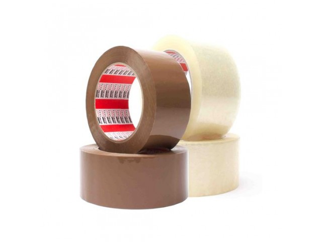 Low Noise Clear Premium Acrylic Packing Tape