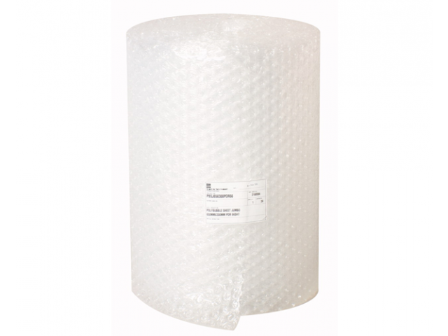 Jumbo Bubble Wrap (Perforated every 300mm) 650x20mtr Roll