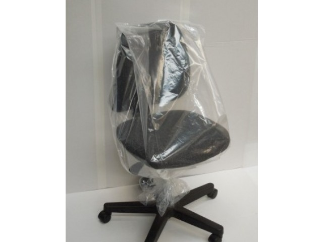 Clear Chair Bag 480x420x1200 70mu (EACH)